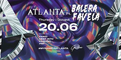 B38 Club Milano Ex Byblos - Giovedì 20 Giugno 2019 - Atlanta Ft. Balera Favela - Trap/Tropical Bass/Baile Funk - Lista Miami - Liste e Tavoli al 338-7338905 biglietti