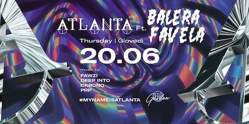 B38 Club Milano Ex Byblos - Giovedì 20 Giugno 2019 - Atlanta Ft. Balera Favela - Trap/Tropical Bass/Baile Funk - Lista Miami - Liste e Tavoli al 338-7338905