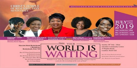 CTRM's Destined Women's Conference 2019 tickets
