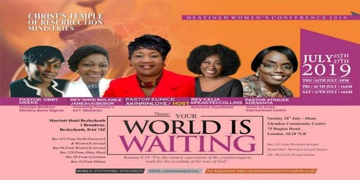 CTRM's Destined Women's Conference 2019