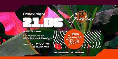 B38 CLUB MILANO EX BYBLOS - VENERDI 21 GIUGNO 2019 - SUMMER GARDEN SEASON 2019 - LISTA MIAMI - LISTE E TAVOLI AL 338-7338905 biglietti