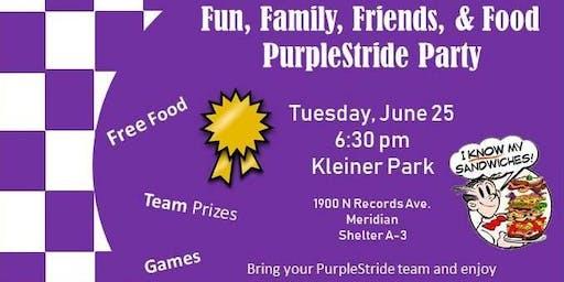PurpleStrdie Kick-off Party