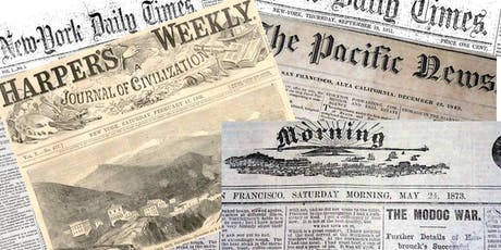 Historical Newspapers, Thursday Evening Free, Aug 8, 6:00pm - 8:00pm tickets