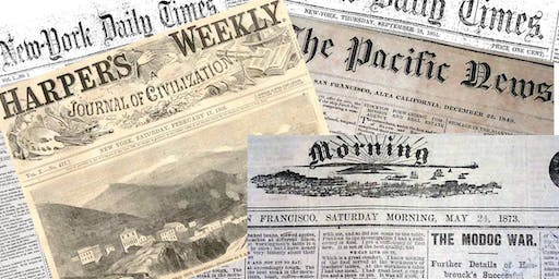 Historical Newspapers, Thursday Evening Free, Aug 8, 6:00pm - 8:00pm
