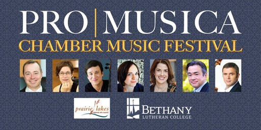 Individual tickets for ProMusica Chamber Music Festival, Mankato, MN
