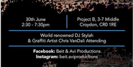 Hip Hop and Graffiti Brunch tickets