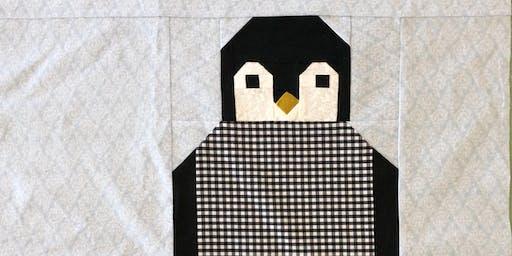 Penguin Quilt Square