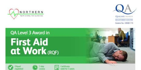 First Aid at Work - 3 day course (Day1 - Emergency First Aid at Work) tickets