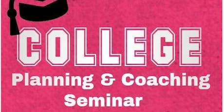 College Planning & Coaching Seminar tickets