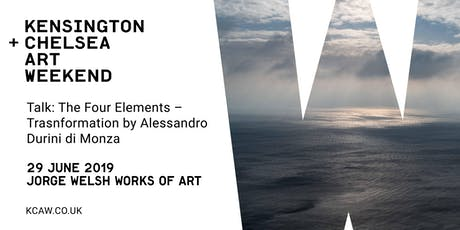 Talk: The Four Elements – Transformation with Alessandro Durini di Monza  tickets