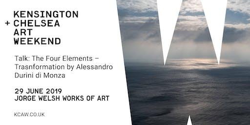 Talk: The Four Elements – Transformation with Alessandro Durini di Monza