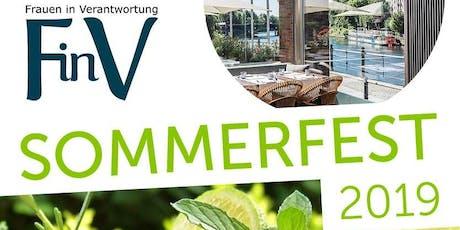 Das FinV Sommerfest 2019 für Frauen und Männer in Verantwortung in Berlin Tickets