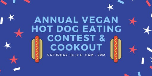 Annual Vegan Hot Dog Eating Contest