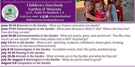 Summer Camp - Hydrologists in the Garden tickets