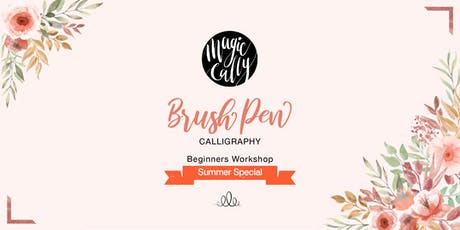 Brush Pen Calligraphy Workshop tickets