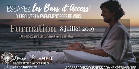 Formation Access Bars à Québec billets