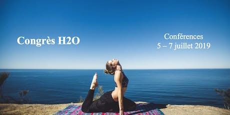 Congrès H2O billets