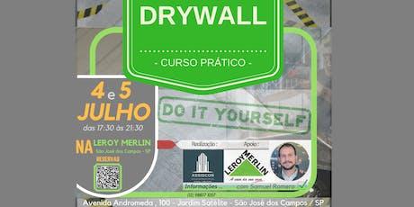 Curso Sistema Construtivo DRYWALL ingressos