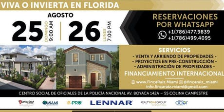 FINCARAIZ.MIAMI  tickets