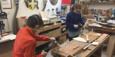Monday 19th August 9.30am-1.30pm, Junior DIY Class, age 11-16