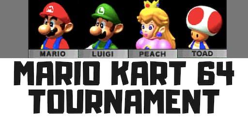 MARIO KART 64 Tournament (6/26)