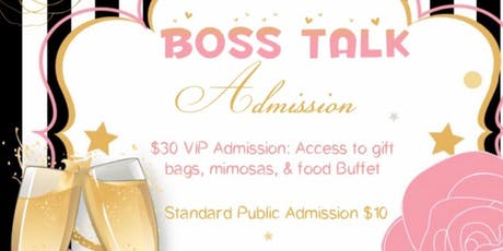BOSS TALK tickets