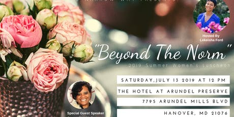 """Beyond The Norm"" 2019 Women's Luncheon tickets"