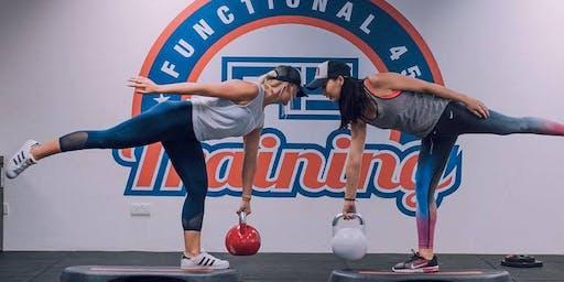 Free Circuit Workout w/ F45 Training!