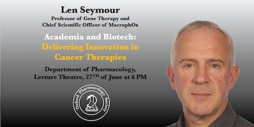 Academia and Biotech: Delivering Innovation in Cancer Therapies