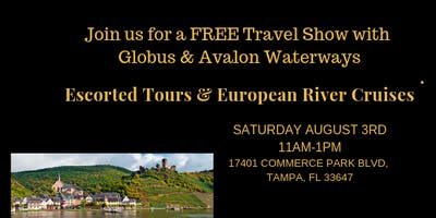 FREE Travel Show with Globus & Avalon Waterways
