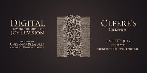 Digital - Playing the music of Joy Division - performing Unknown Pleasures