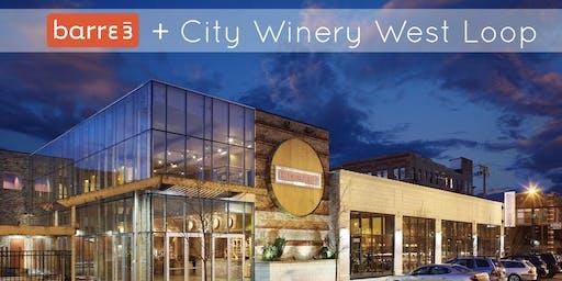 City Winery + Barre3 Happy Hour Thursday!