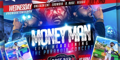 Money Man Performing Live Rose Bar
