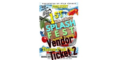 Rich Sounds Presents: 1st annual Splash fest Vendor Ticket 2