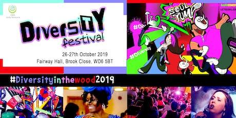 Diversity Festival Borehamwood 2019 tickets