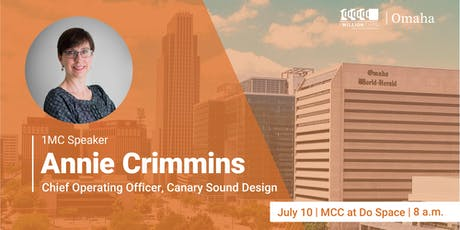 1 Million Cups with Annie Crimmins of Canary Sound Design tickets
