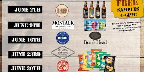 FREE BEER + FOOD in Ridgewood/ Bushwick! tickets