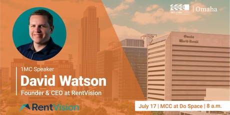 1 Million Cups with David Watson, RentVision tickets