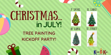 Christmas in July Tree Painting tickets