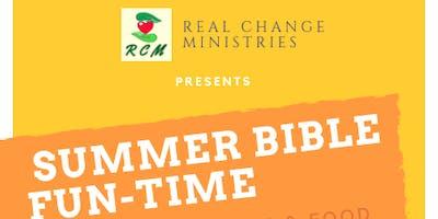 SUMMER BIBLE FUN-TIME