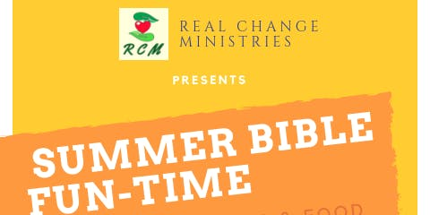 SUMMER BIBLE FUN-TIME
