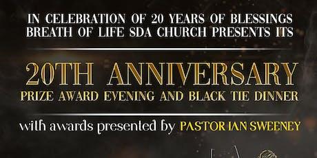 BOL 20th Anniversary Prize Award Evening & Black Tie Dinner tickets