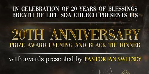 BOL 20th Anniversary Prize Award Evening & Black Tie Dinner