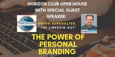 The Power of Personal Branding  tickets