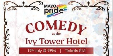 Mayo Pride19 Comedy Night