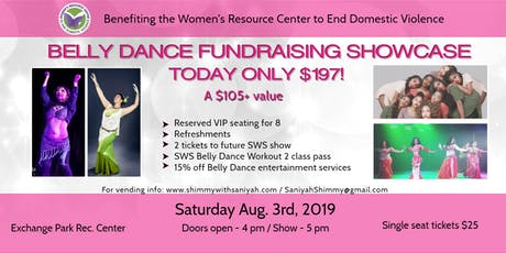 Shimmy With Saniyah Belly Dance Fundraising Showcase-Benefiting WRCDV tickets