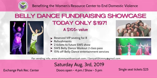 Shimmy With Saniyah Belly Dance Fundraising Showcase-Benefiting WRCDV