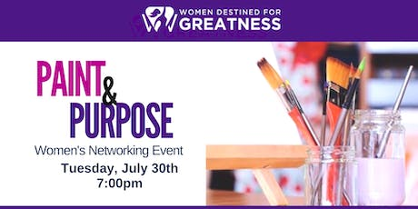 Paint & Purpose Networking Event tickets