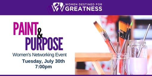 Paint & Purpose Networking Event