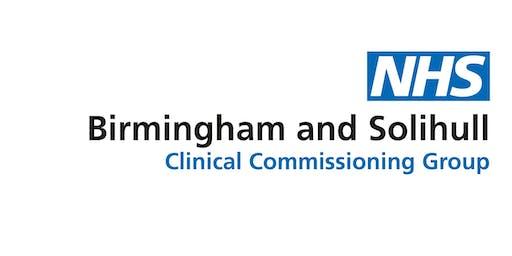 Birmingham North- Flash Glucose Monitoring educational event